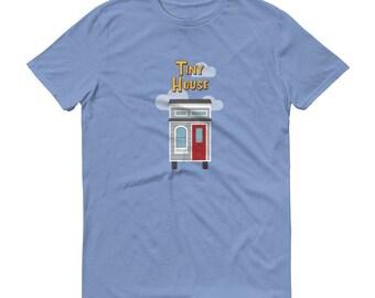 Full House / Tiny House Mashup - Men's Short-Sleeve T-Shirt