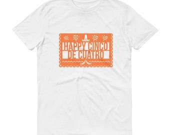 Happy Cinco De Cuatro - Arrested Development Funny TV Show Short-Sleeve T-Shirt