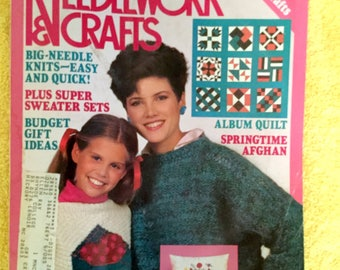 McCall's Needlework and Crafts 1985