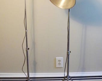 Vintage Mid Century Industrial Vintage Photography Lamps - Set of 2