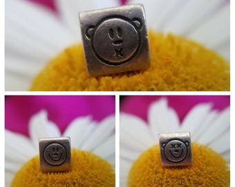 Sterling Silver Reflections See no Evil, Hear no Evil, Speak no Evil Bead (st - 2072)