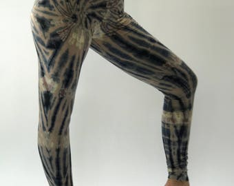 TD0169 Women's Tie Dyed Yoga Pants and Leggings,perfect for yoga super comfort, tiedye