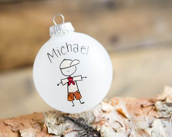 Boy Scouts Christmas Ornament - Personalized for Free