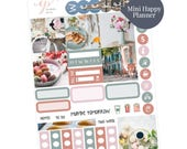 Mini Happy Planner Stickers / Paris Sticker Kit / Planner Stickers / Mini Sticker Kit / Photo Sticker Kit / MS3