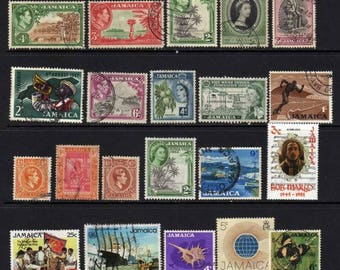 Jamaica Stamps, Jamaican Stamps, Caribbean Islands Stamps, Postage Stamps, Stamps,Caribbean Stamps,  Stamp Collection,