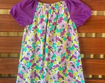 Girls Peasant Style Dress. Size 3