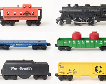 1976 Lionel The Black River Freight Train Set