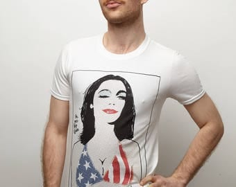 "PJ Harvey ""I'm One Big Queen"" White T-Shirt"