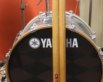 Vintage pair of Oversized CB 700  Manufacturers' Store Product Display Drum Sticks