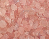 "ONE Rose Quartz rough stone from Madagascar - 18-40mm or appx. 1"" - pink natural raw stone specimen"