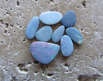 Natural Opal Doublets 8 stones