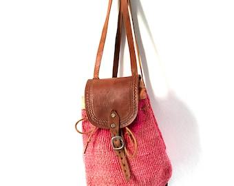 African Sisal Backpack. Boho Bag. Sisal Rucksack. African Sisal Bag. Ethnic Bag. African Bag. Boho Backpack. Bohemian Bag. Festival Bag