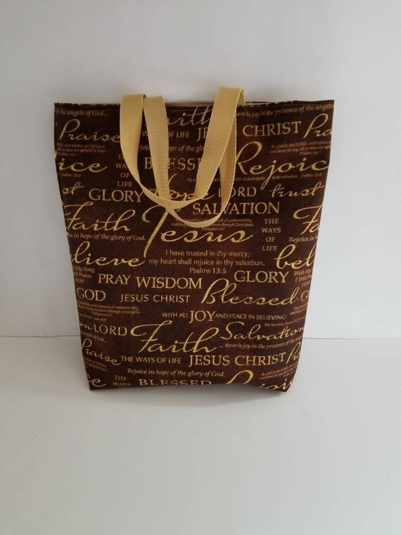 Christian tote bagfaith based tote christian totesfabric like this item negle Choice Image