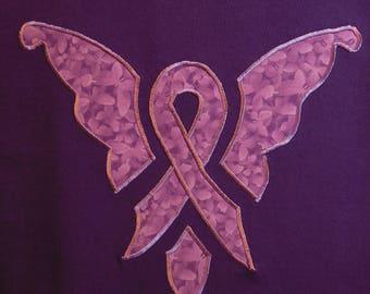 Lupus Awareness Butterfly T-shirt