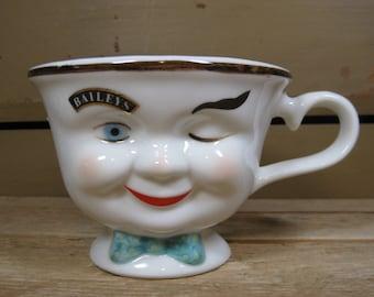 Baileys Winking Eye Gentlemens Tea Cup Limited Edition