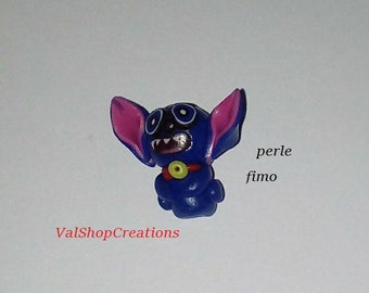 Pearl Monster big ears polymer clay 20mm