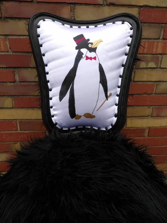 Dapper Penguin Accent Chair