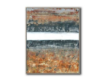 small abstract Contemporary abstract minimalist painting. original acrylic painting