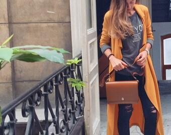 Caramel leather bag/Handmade bags/leather bags/shoulder bags/leather crossbody/handmade shoulder/handmade bag/womens bag/gift for her