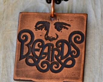 Beards Pendant