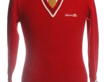 Vintage 1980's Ellesse Jumper XS - www.brickvintage.com