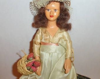 Vintage 1950's Peggy Nisbet Doll - The Strawberry Seller