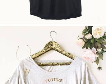 Future Mrs Shirt - Newly Engaged Shirt - Bride Shirt - Engagement Gift for Bride  (EB3202BPW) Loose Fit