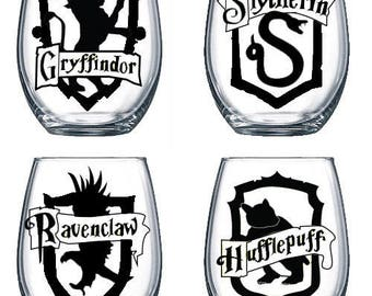 Harry Potter House Decal | Gryffindor Slytherin Ravenclaw Hufflepuff