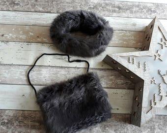Faux Fur Hat - Girls Faux Fur Hat - Girls Headband - Childs Headband - Faux Fur Ear Warmers - Toddlers Headband - Faux Fur Hat, Toddlers Hat
