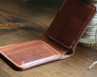 Revision Bifold in Horween Copper Tan Cavalier