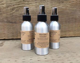 Sea Salt Hair Spray - Natural Hair Spray - Sea Salt Spray - Natural Hair Care - Texturizing Spray for Hair - Styling Spray