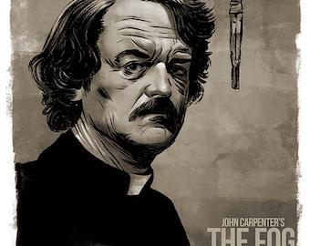 John Carpenter's THE FOG - movie poster art print 80s cult horror