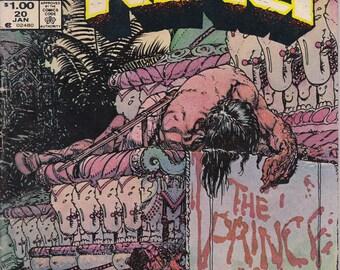 Conan the King  #20 (1980) - January 1984 - Marvel Comics - Grade G