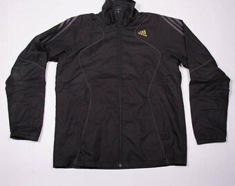Vintage Adidas Climaproof Zip Up Windbreaker Jacket