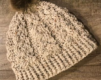 Crochet Pom hat