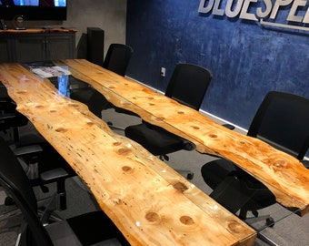 Live Edge Conference Table - Built to Order