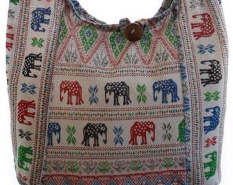 Girls Purse, Small sling bag, Elephant, Hobo, Boho, Hippie, Bohemian,  sac hippie, Purse, Elephant bags, Boho hippie bag