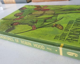 The Merry Adventures of Robin Hood | By Howard Pyle | 1968 Classic Press Illustrated Hardcover