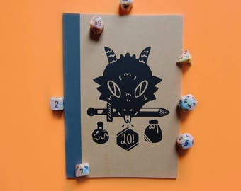 Dragon Lined Notebook