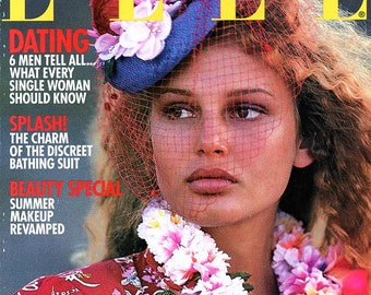Elle Magazine  1995  Bridget Hall Cover + much more Bridget inside .. Gorgeous Models / Women throughout  The Arquette Family  much more ...