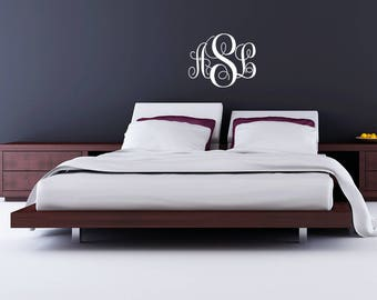 Monogram Wall Decal - Free Shipping