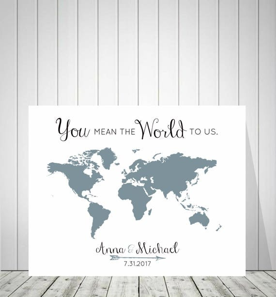 Wedding World Map Guest Book, Bride and Groom Gift, Foam Board World Map, Alternative Guest Book, Travel Map, Push Pin World Map - 51777