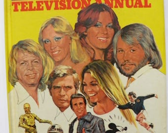 Look In Television Annual 1979 Vintage