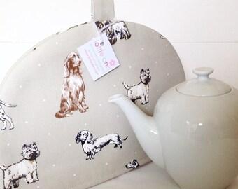 Tea Cosy, Dogs Tea Cosy, Tea Cosy, Pedigree Dogs, Time for Tea, Kitchen Accessory, Natural Tea Cosy, Gift, Labradors