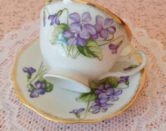 Vintage Shafford tea cup and saucer set