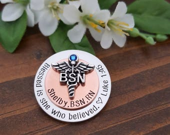 BSN Pin | BSN Nursing Pin For Nurse Graduation | BSN Gift For Nurse Graduate | Nurse Pin | Nursing Pins | Nurse Graduation | Nursing pin bsn