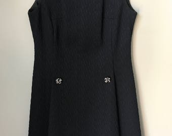 1960s/1970s BARNSVILLE Little Black Dress
