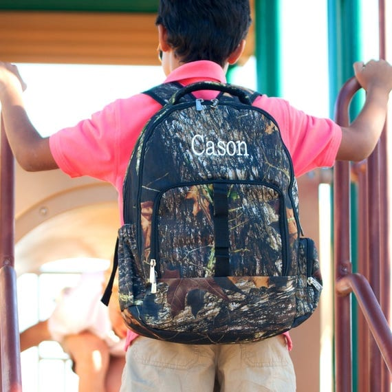 Monogrammed Backpack Personalized Book Bag Back To School Camouflage Backpack Boys Backpack Camo Backpack School Supplies Highway12Designs