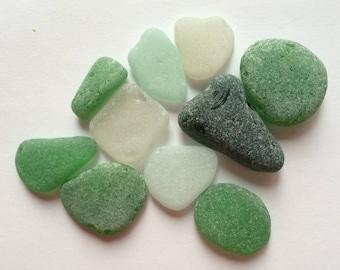 Large Sea Glass, Genuine Sea Glass, Bulk Sea Glass, Beach Glass, Tumbled Glass, Sea Glass for Crafts