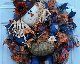Fall Wreath for Front Door - Fall Wreath - Fall Door Wreath - Fall Door Decor - Fall Farmhouse Decor - Autumn Wreath - Autumn Door Wreath